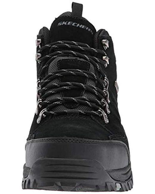 Skechers Relment pelmo Hiking Boot in Black for Men Save 9