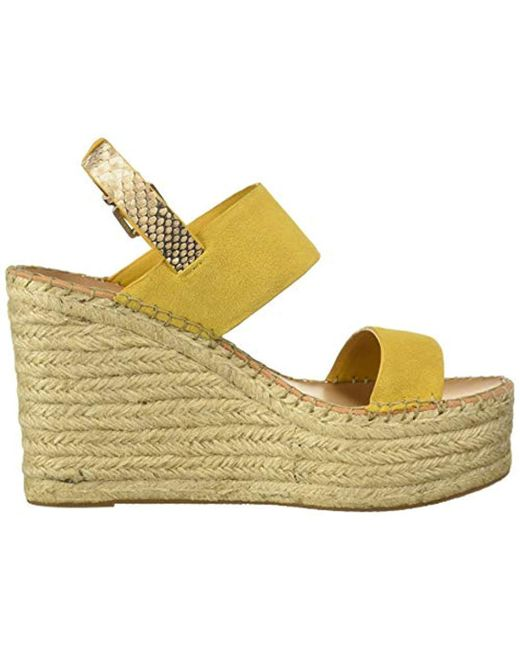 fd06fe5265e9f Women's Yellow Spiro Wedge Sandal