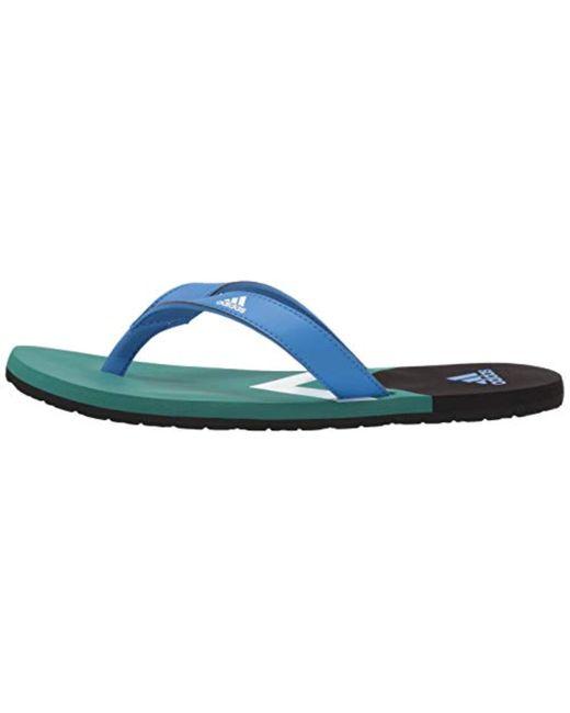 meet 83ec2 09582 ... Adidas - Multicolor Eezay Flip Flop for Men - Lyst ...