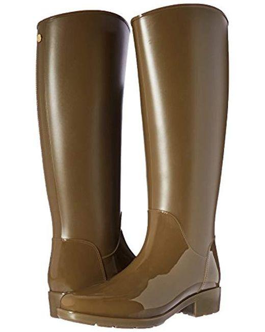 914885cc897102 ... Sam Edelman - Green Sydney Rain Boot - Lyst ...