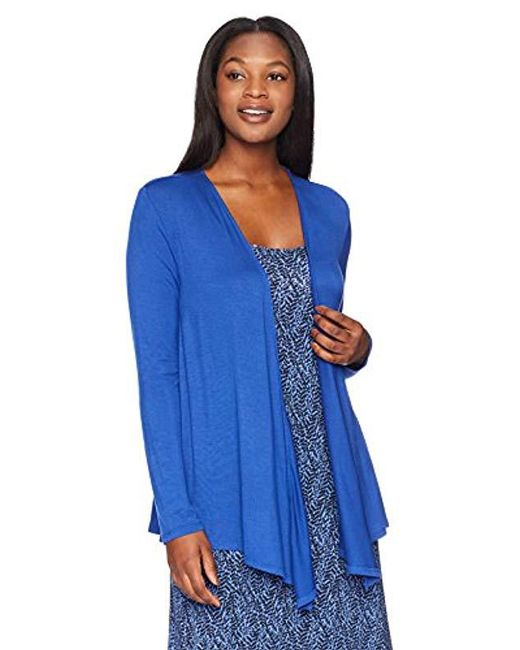 Arabella - Blue Open Cardigan - Lyst