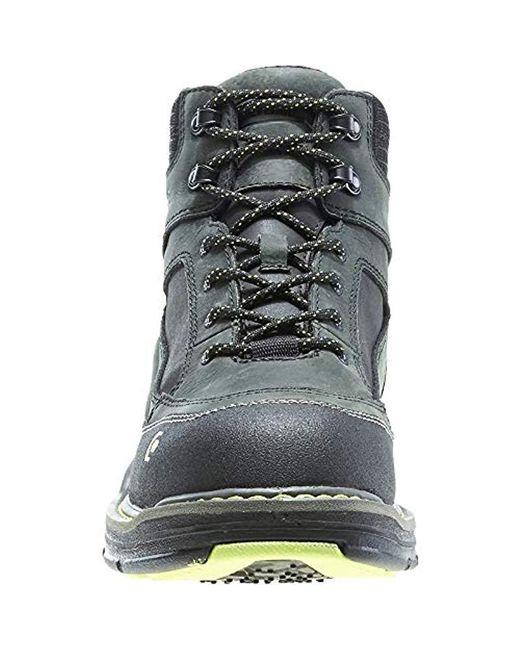 77df5129cbc Men's Black Overman Nano Toe 6 Inch Wpf Contour Welt Work Boot