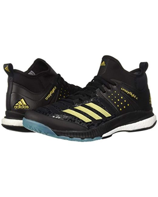 94720efe3 ... Adidas - Black Crazyflight X Mid Volleyball Shoes for Men - Lyst ...