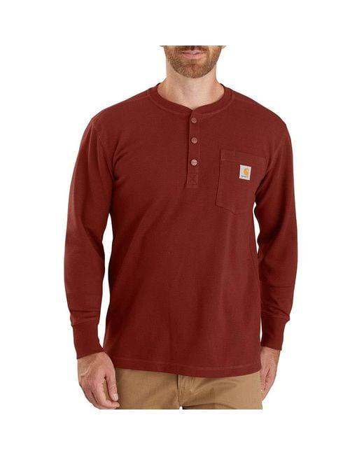 Carhartt Red Long-sleeve for men