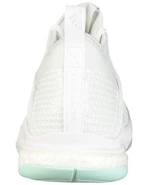 Adidas Crazyflight X3 Shoes WhiteWhite | Midwest Volleyball Warehouse