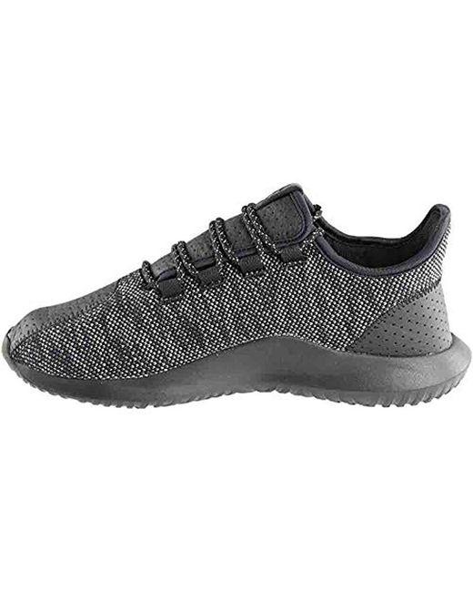 online retailer 3bee5 bfac1 Men's Black Tubular Shadow Running Shoe