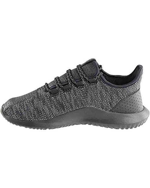 online retailer facb7 8ab35 Men's Black Tubular Shadow Running Shoe