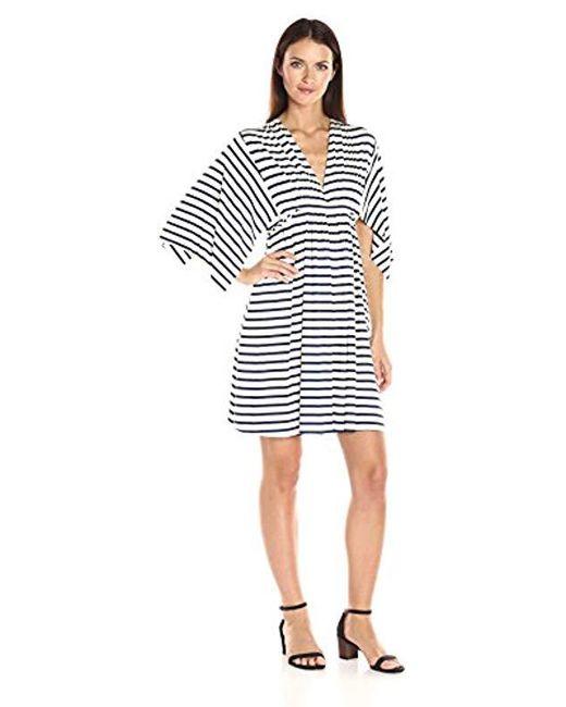 Rachel Pally - Multicolor Mini Caftan Dress - Lyst