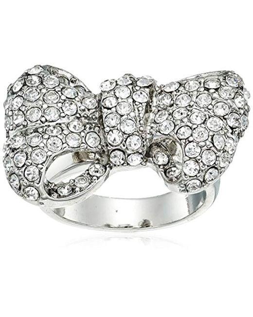 Guess - Metallic Stones Ring - Lyst