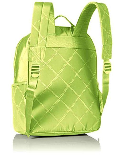 22ecb935ef2f ... Vera Bradley - Green Preppy Poly Large Backpack