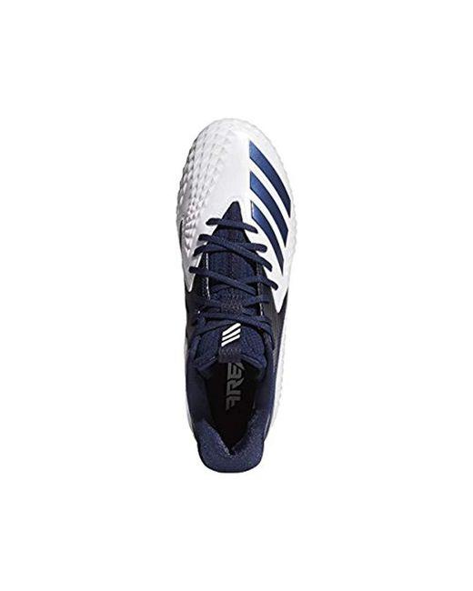 91cbf24fc ... Adidas - Blue Freak X Carbon Mid Football Shoe for Men - Lyst ...