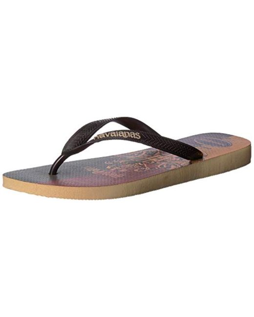 a29566a99468 ... Havaianas - White Top Harry Potter Sandal - Lyst ...