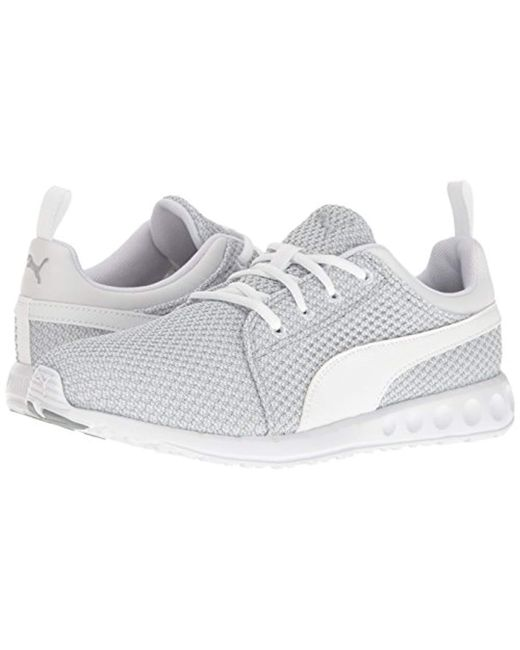 ... PUMA - White Carson Knitted Cross-trainer Shoe for Men - Lyst ... 34d1cd57d