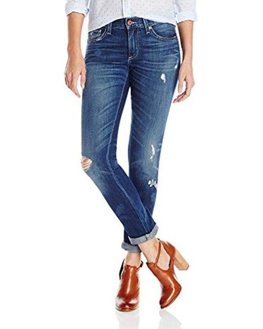 Lucky Brand Blue Lolita Skinny Jean In Eclipse