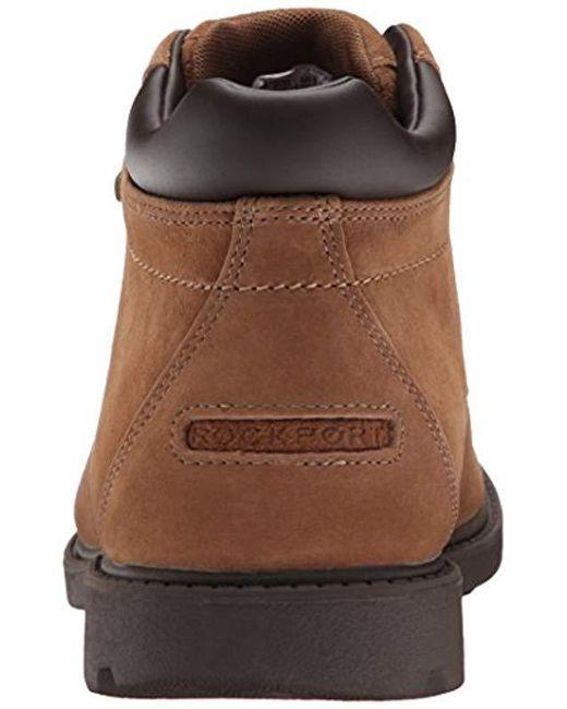 1f19cc30d4f Men's Brown Rgd Buc Wp Boot Shoes