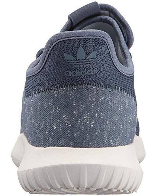 pretty nice c0d22 8b2fe ... Adidas Originals - Blue Tubular Shadow Sneaker for Men - Lyst ...