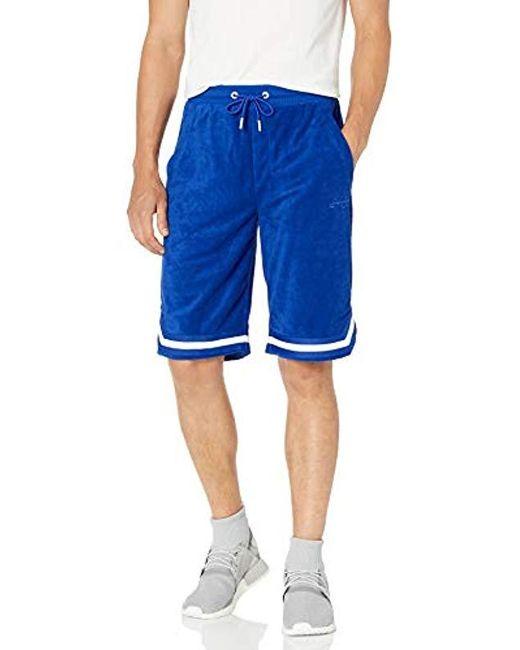 Sean John Blue Terry Cloth Shorts for men