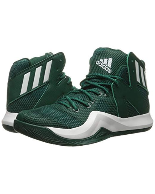 5d7b1e86c15 ... Adidas - Green Performance Crazy Bounce Basketball Shoe for Men - Lyst  ...