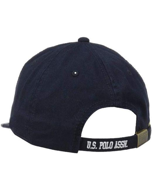 73d571faf Men's Blue Us Polo Association Flat Baseball Cap