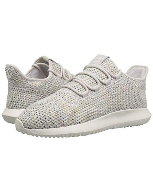 huge selection of f5547 04536 ... Adidas Originals - Gray Tubular Shadow Ck Fashion Sneakers Running  Shoe, Greycloud White ...