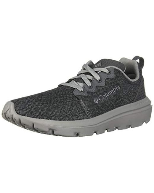 Columbia Gray Backpedal Shoe, Breathable, High-traction Grip