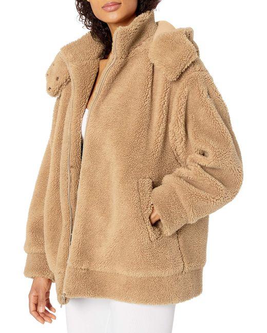 Alo Yoga Natural Norte Sherpa Coat