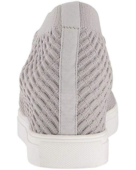 df8337da99f Lyst - Steven by Steve Madden Carin Sneaker in Gray - Save 56%