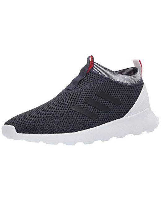 5e9f4ab7ad Adidas - Blue Questar Rise Sock for Men - Lyst ...