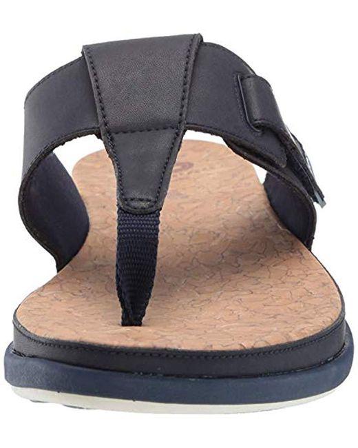 36ea8a2a1a27f Women's Blue Step June Reef Sandal