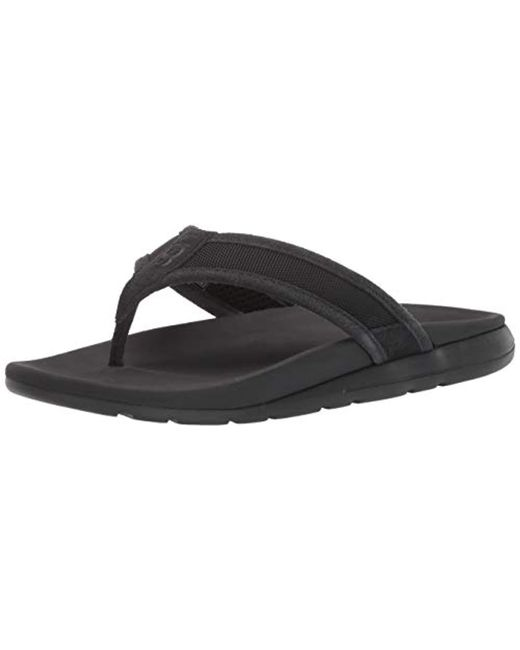 3b7a32fee75 Men's Black Tenoch Ballistic Sandal Flip-flop
