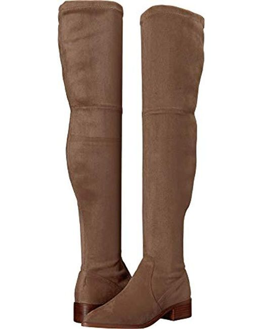 38cc98df639 Steve Madden - Brown Jestik Over The Over The Knee Boot - Lyst ...