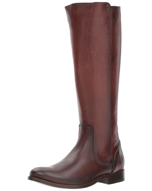 Frye Multicolor Melissa Stud Back Zip Riding Boot