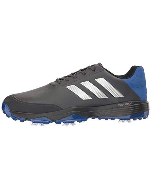 brand new c0f36 da8ae ... Adidas - Black Adipower Bounce Wd Ftwwht Golf Shoe for Men - Lyst ...