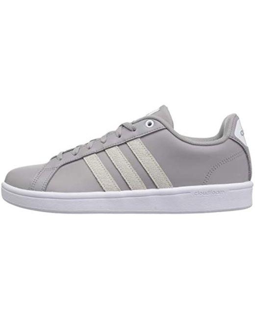 adidas adidas Women's Cf Advantage Sneaker, Whiteice PurpleLight Granite, 6 M US from Amazon | ShapeShop
