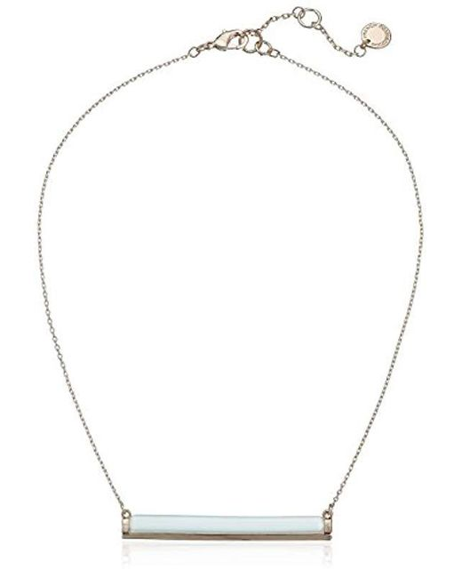 French Connection - Metallic The Candy Stick Necklace Pendant Necklace - Lyst