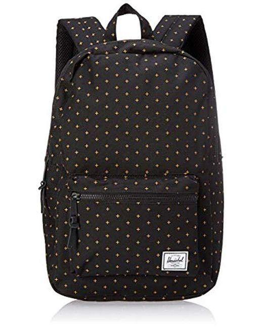 Herschel Supply Co. - Black Settlement Mid-volume Backpack - Lyst