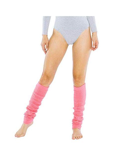 American Apparel Pink Long Leg Warmer