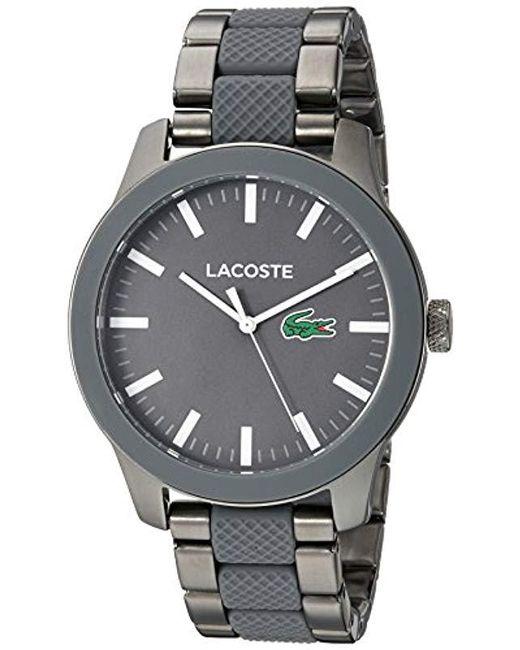 Lacoste - Gray S 2010923 - .12.12 for Men - Lyst ...