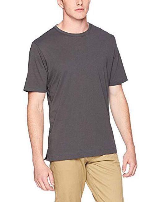 Robert Graham - Gray Neo Knit Crew T-shirt for Men - Lyst