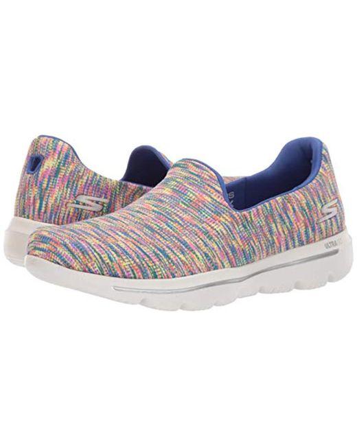 40868e2b3e818 Women's Blue Go Walk Evolution Ultra-frenzied Sneaker