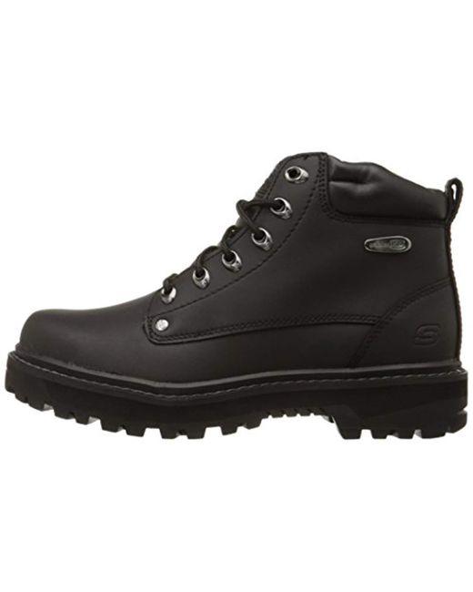 Lyst Skechers Pilot Utility Boot in Black for Men Save 32%
