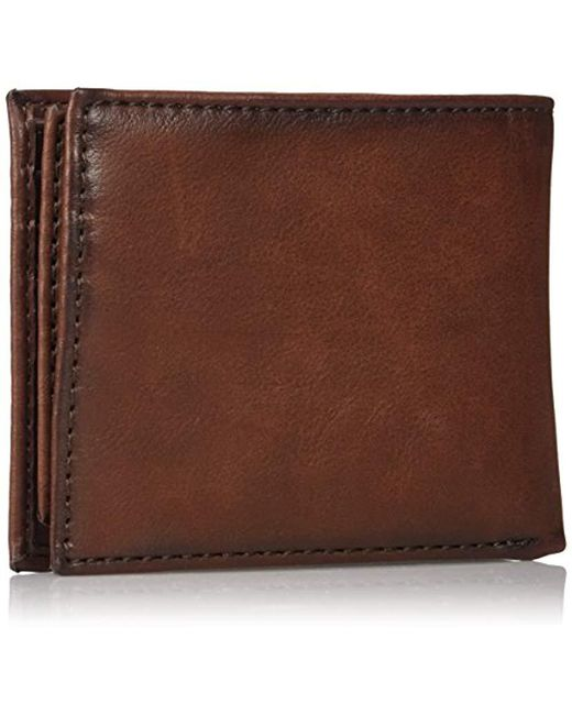 634a00a926c3 Men's Brown Slim Bifold Wallet