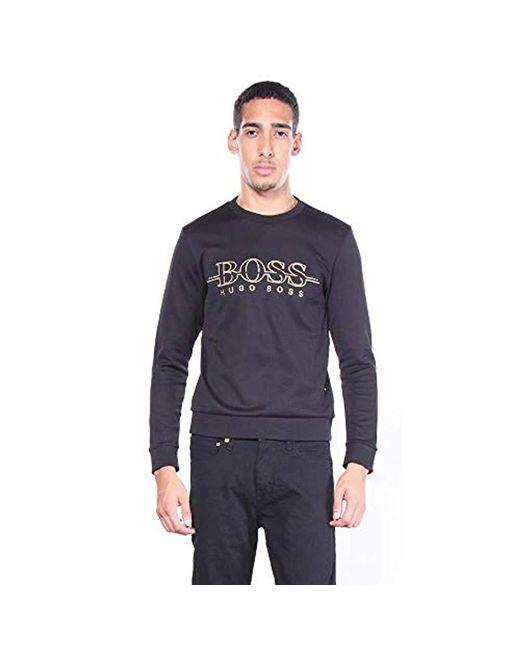 b964938cf Lyst - Boss Salbo Bhb Sweatshirt in Black for Men - Save ...