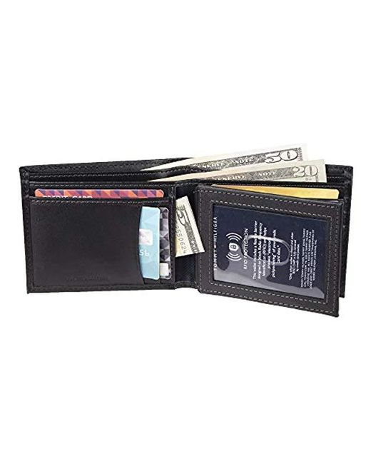 buy attractive price finest selection Tommy Hilfiger Leather Wallet-bifold With Rfid Blocking ...
