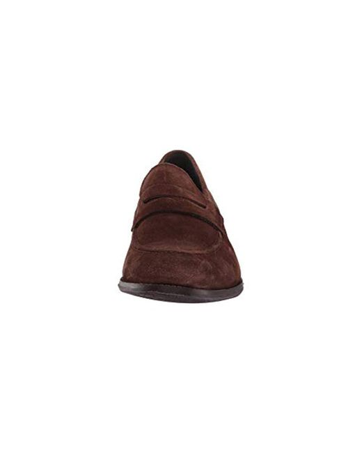 d70e7f7377f Lyst - Cole Haan Wagner Grand Penny Loafer in Brown for Men - Save 1%