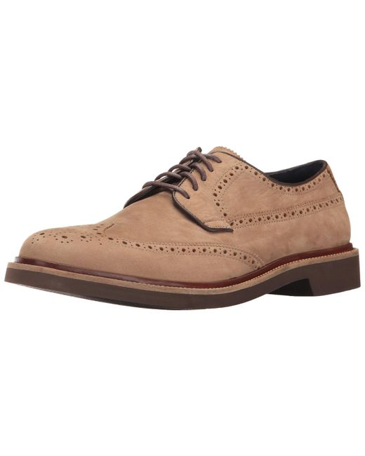 Cole Haan Brown Briscoe Wing Ox Oxford for men