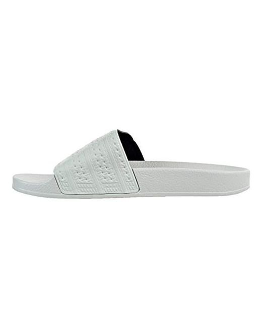 ... Adidas Originals - Multicolor Adilette Slide Sandal for Men - Lyst ... b340fa9ea