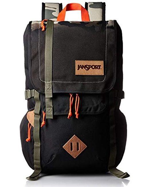 ea4f6e3058 ... Jansport - Black Hatchet Backpack - Lyst ...