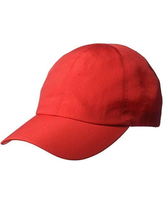 Perry Ellis Red Waterproff Baseball Cap for men
