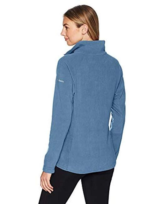432d661b1 Women's Blue Glacial Iv Half Zip, Soft Fleece With Classic Fit